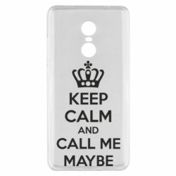 Чехол для Xiaomi Redmi Note 4x KEEP CALM and CALL ME MAYBE