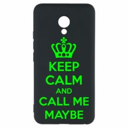 Чехол для Meizu M5 KEEP CALM and CALL ME MAYBE - FatLine