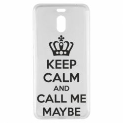 Чехол для Meizu M6 Note KEEP CALM and CALL ME MAYBE - FatLine