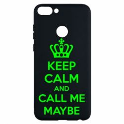 Чехол для Huawei P Smart KEEP CALM and CALL ME MAYBE - FatLine