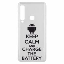 Чехол для Samsung A9 2018 KEEP CALM and CHARGE BATTERY - FatLine