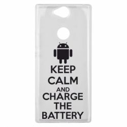 Чехол для Sony Xperia XA2 Plus KEEP CALM and CHARGE BATTERY - FatLine