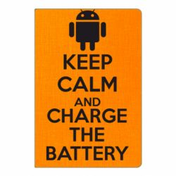 Блокнот А5 KEEP CALM and CHARGE BATTERY - FatLine