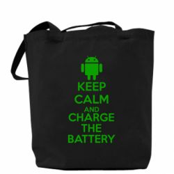 Сумка KEEP CALM and CHARGE BATTERY - FatLine