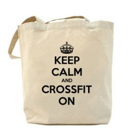 Сумка Keep Calm and CrossFit on