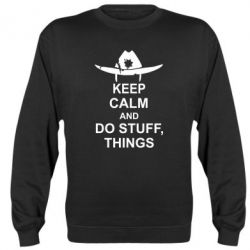 Реглан KEEP CALM AND DO STUFF
