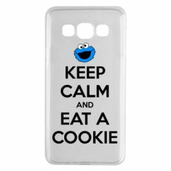 Чехол для Samsung A3 2015 Keep Calm and Eat a cookie