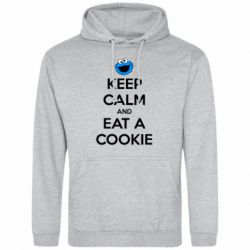Мужская толстовка Keep Calm and Eat a cookie - FatLine