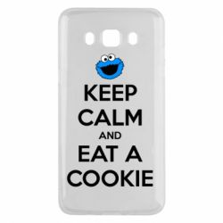 Чехол для Samsung J5 2016 Keep Calm and Eat a cookie