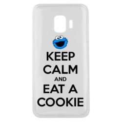 Чехол для Samsung J2 Core Keep Calm and Eat a cookie