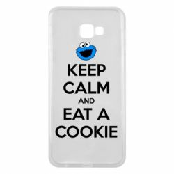 Чехол для Samsung J4 Plus 2018 Keep Calm and Eat a cookie