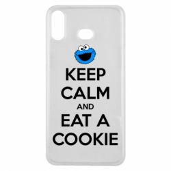Чехол для Samsung A6s Keep Calm and Eat a cookie