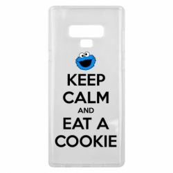 Чехол для Samsung Note 9 Keep Calm and Eat a cookie
