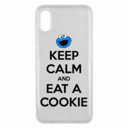 Чехол для Xiaomi Mi8 Pro Keep Calm and Eat a cookie