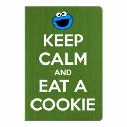 Блокнот А5 Keep Calm and Eat a cookie