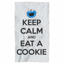 Полотенце Keep Calm and Eat a cookie