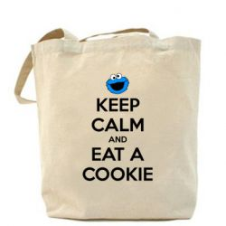 Сумка Keep Calm and Eat a cookie - FatLine