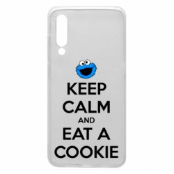 Чехол для Xiaomi Mi9 Keep Calm and Eat a cookie