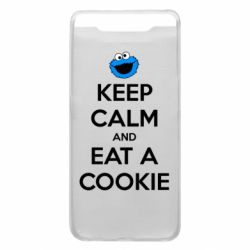 Чехол для Samsung A80 Keep Calm and Eat a cookie