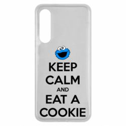 Чехол для Xiaomi Mi9 SE Keep Calm and Eat a cookie