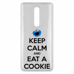 Чехол для Xiaomi Mi9T Keep Calm and Eat a cookie