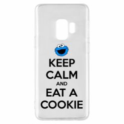 Чехол для Samsung S9 Keep Calm and Eat a cookie