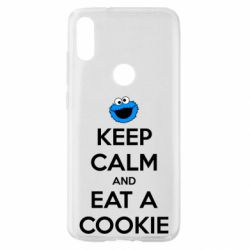 Чехол для Xiaomi Mi Play Keep Calm and Eat a cookie