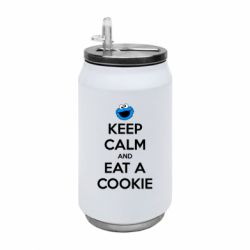 Термобанка 350ml Keep Calm and Eat a cookie
