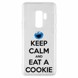 Чехол для Samsung S9+ Keep Calm and Eat a cookie