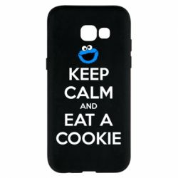Чехол для Samsung A5 2017 Keep Calm and Eat a cookie