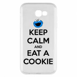 Чехол для Samsung A7 2017 Keep Calm and Eat a cookie