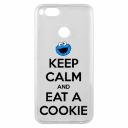 Чехол для Xiaomi Mi A1 Keep Calm and Eat a cookie