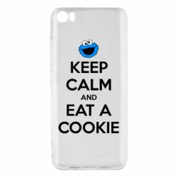 Чехол для Xiaomi Mi5/Mi5 Pro Keep Calm and Eat a cookie