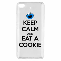 Чехол для Xiaomi Mi 5s Keep Calm and Eat a cookie