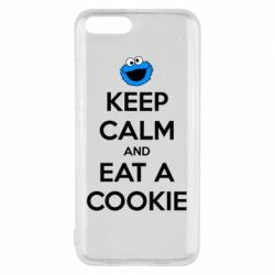 Чехол для Xiaomi Mi6 Keep Calm and Eat a cookie
