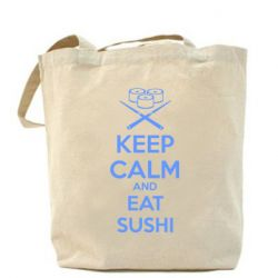 Сумка KEEP CALM and EAT SUSHI
