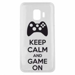 Чехол для Samsung J2 Core KEEP CALM and GAME ON