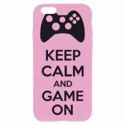 Чехол для iPhone 6 KEEP CALM and GAME ON