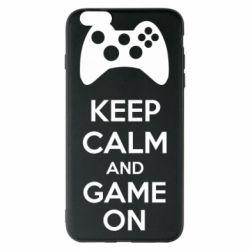 Чехол для iPhone 6 Plus/6S Plus KEEP CALM and GAME ON