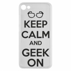 Чехол для Meizu U10 KEEP CALM and GEEK ON - FatLine