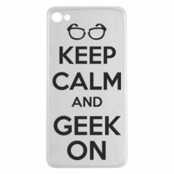 Чехол для Meizu U20 KEEP CALM and GEEK ON - FatLine