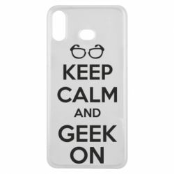 Чехол для Samsung A6s KEEP CALM and GEEK ON - FatLine