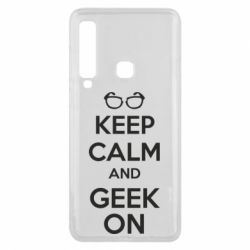 Чехол для Samsung A9 2018 KEEP CALM and GEEK ON - FatLine