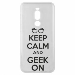 Чехол для Meizu Note 8 KEEP CALM and GEEK ON - FatLine