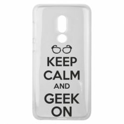 Чехол для Meizu V8 KEEP CALM and GEEK ON - FatLine