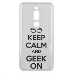 Чехол для Meizu V8 Pro KEEP CALM and GEEK ON - FatLine