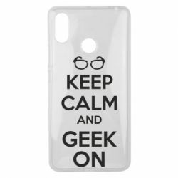 Чехол для Xiaomi Mi Max 3 KEEP CALM and GEEK ON - FatLine