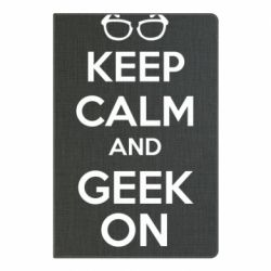 Блокнот А5 KEEP CALM and GEEK ON - FatLine