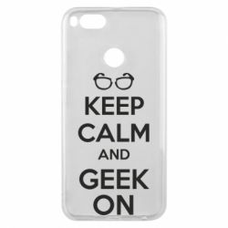 Чехол для Xiaomi Mi A1 KEEP CALM and GEEK ON - FatLine