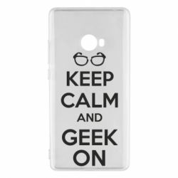 Чехол для Xiaomi Mi Note 2 KEEP CALM and GEEK ON - FatLine